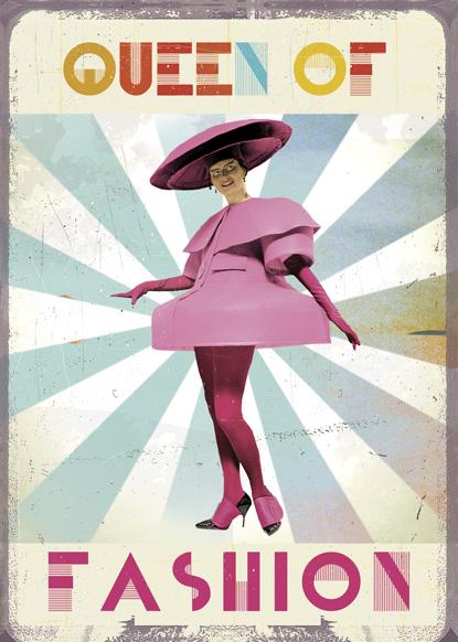 Lip International Vintage Retro Greeting Cards – Fashion Birthday Cards