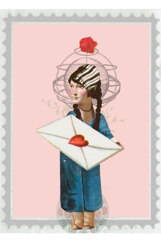 Lip international vintage retro greeting cards love letter greeting card by papaya 2 for 1 offer m4hsunfo Images