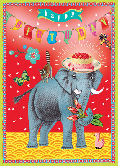 Lip International Vintage Retro Greeting Cards – Indian Birthday Cards