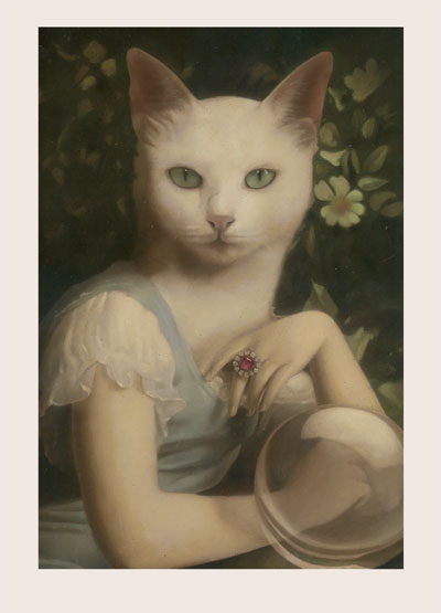 Mole and Rat Greeting Card by Stephen Mackey